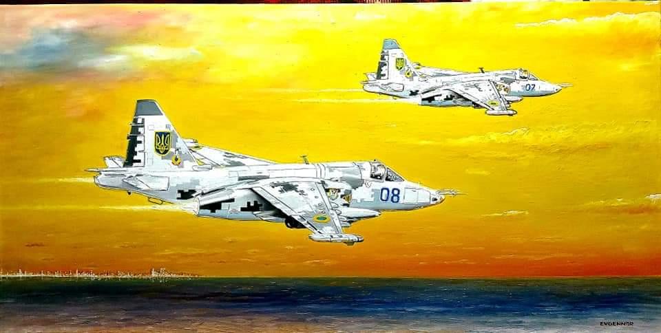 "Aviation Art. ""Стрижи"""