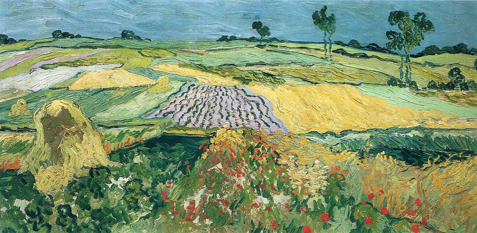 Винсент Ван Гог. Поля в Овере