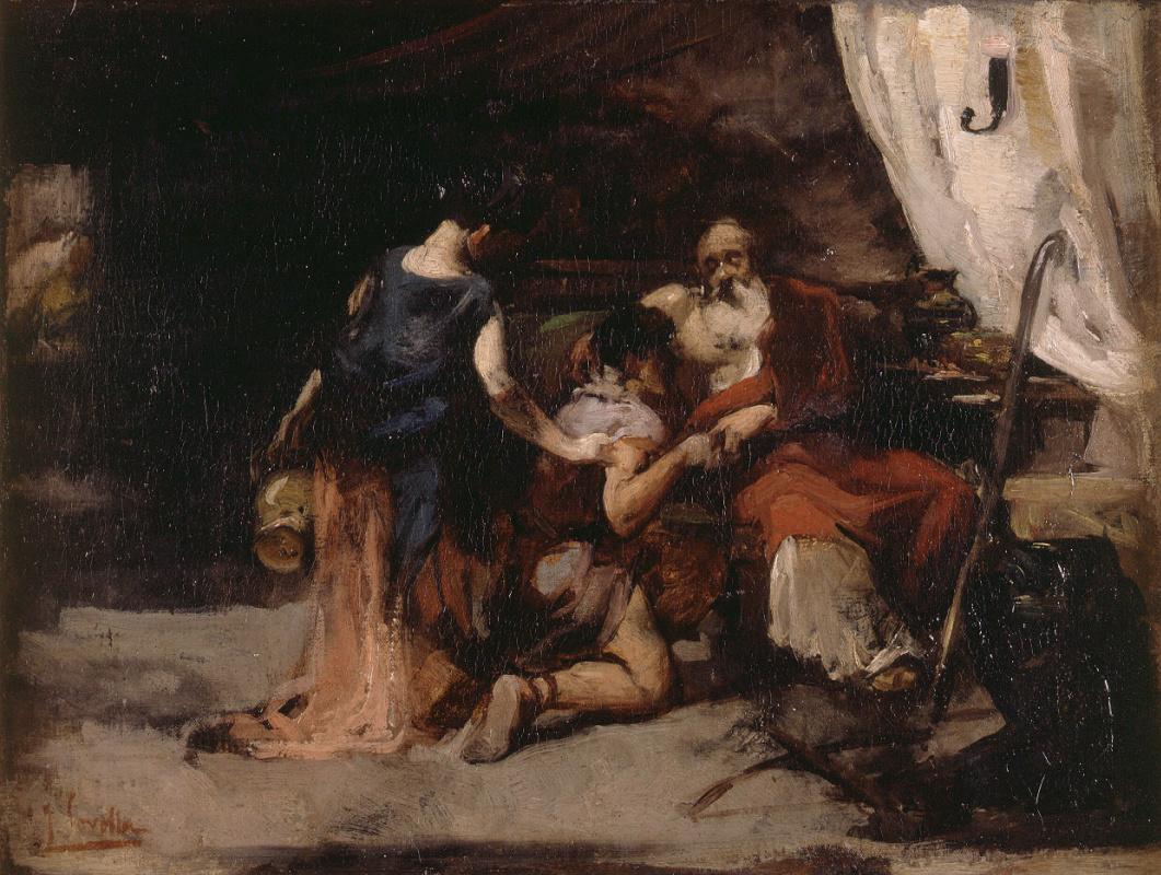 Хоакин Соролья (Соройя). Благословение Исаака