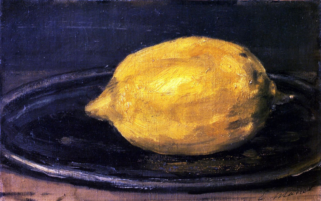 Edouard Manet. Lemon