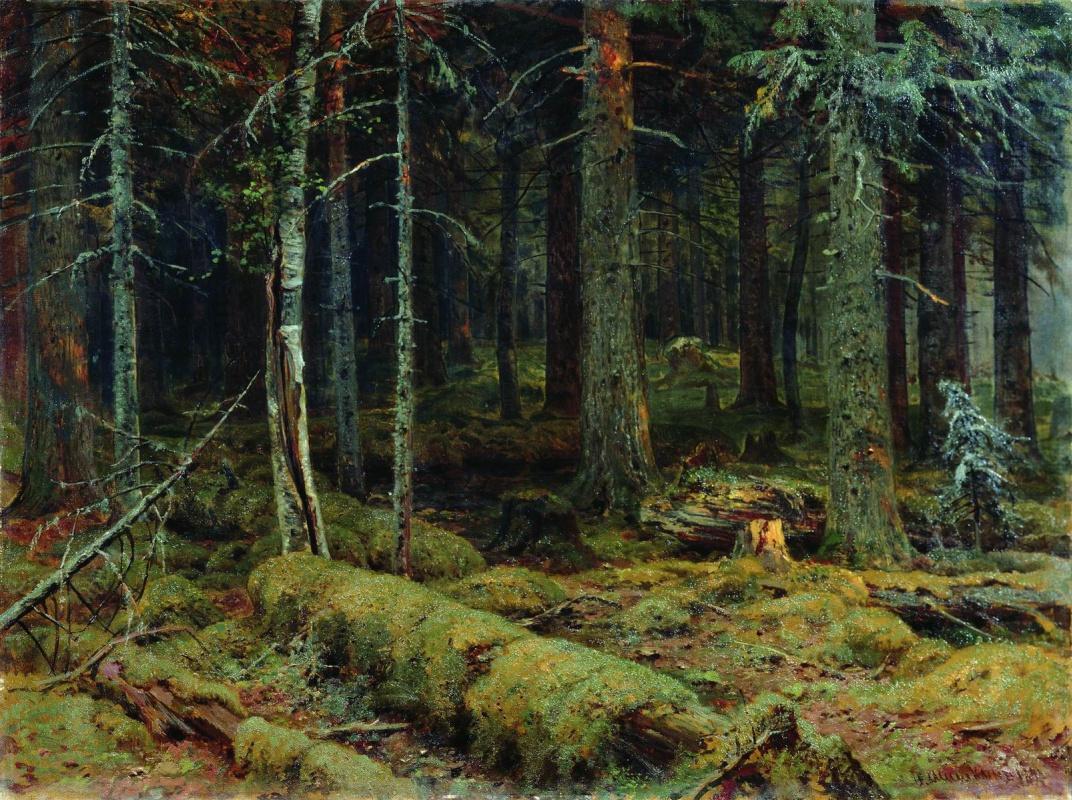 Иван Иванович Шишкин. Темный лес