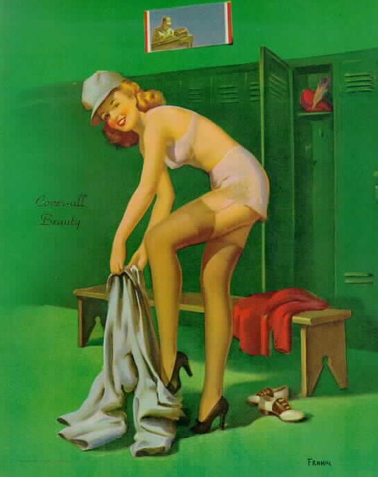 Art Fram. Pin-up 23