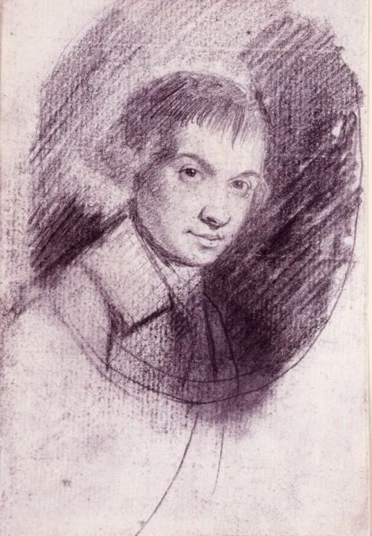 George Romney. Self-portrait
