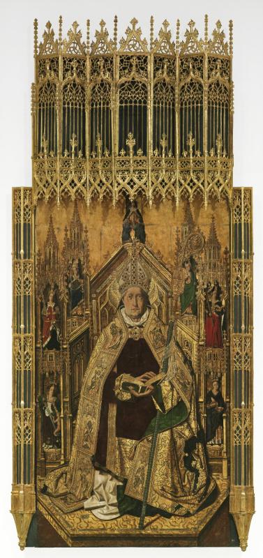 Бартоломе Бермехо. Святой Доминик Силосский, возведённый в сан епископа