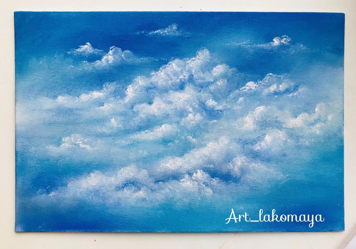 Olga Lakomaya. Clouds