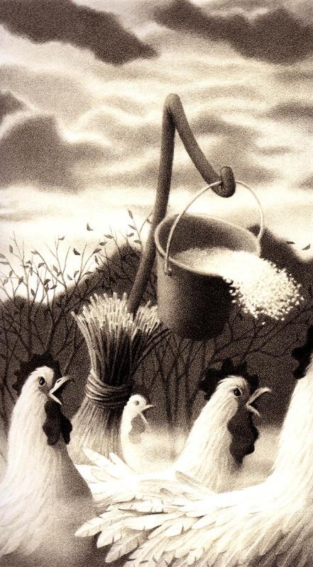 Крис Ван Оллсбург. Иллюстрация 58