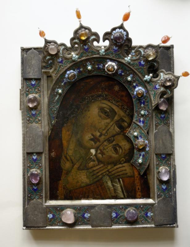 Московская Иконописная Мастерская. Икона Богородица Корсунская