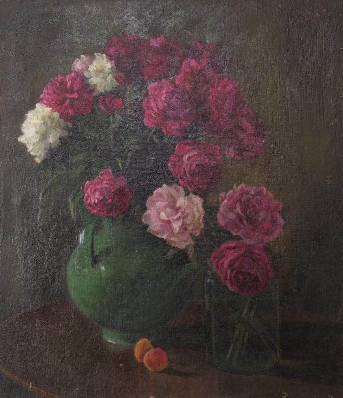 Сергей Яковлевич Лагутин. Зеленая ваза