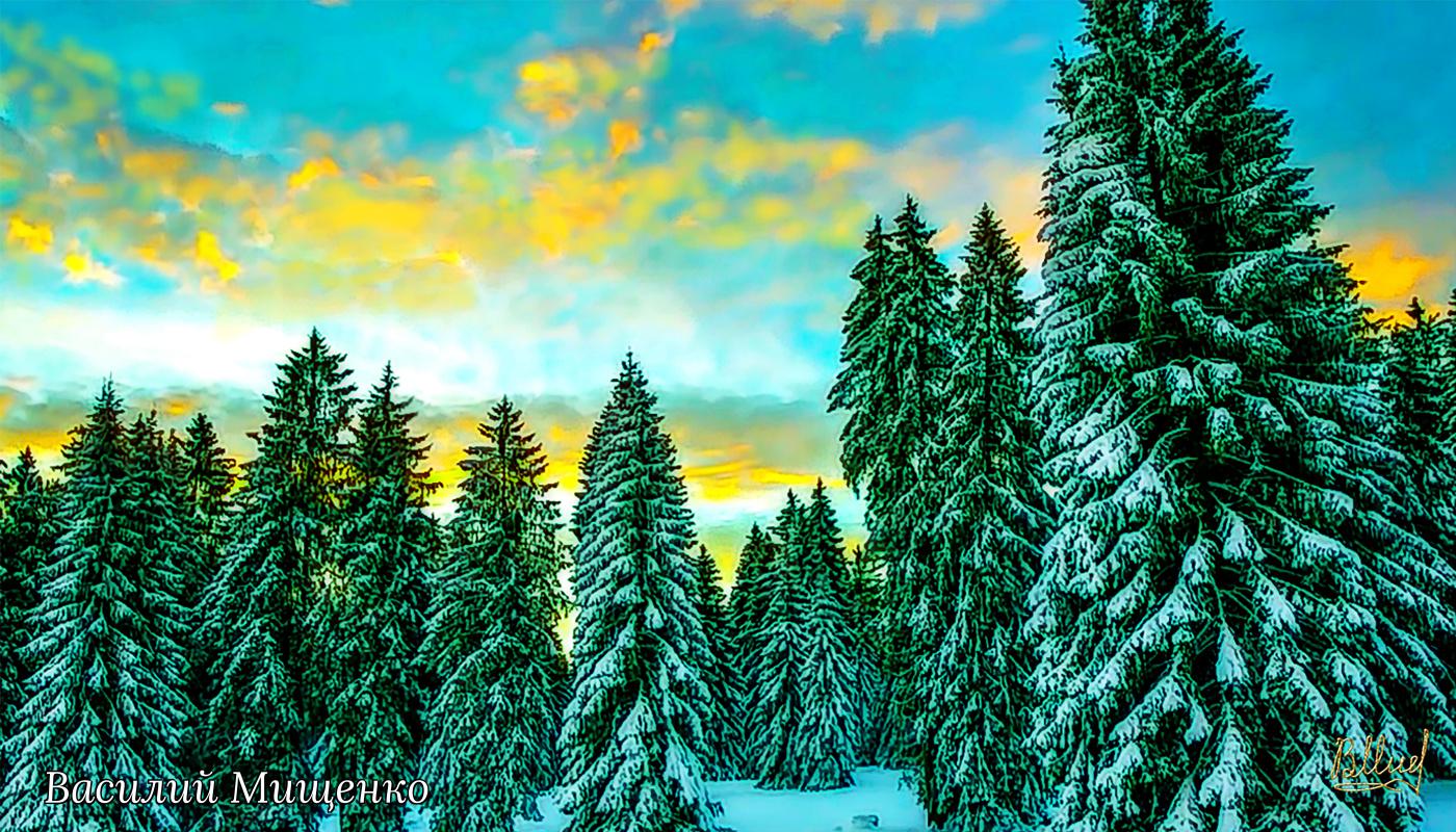 Vasiliy Mishchenko. Landscape 066