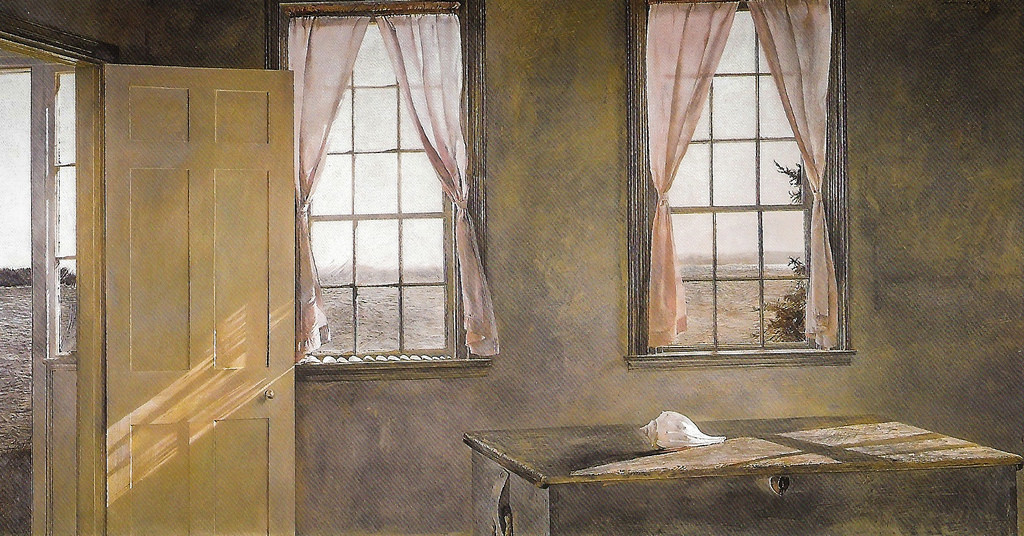 Andrew Wyeth. Her room