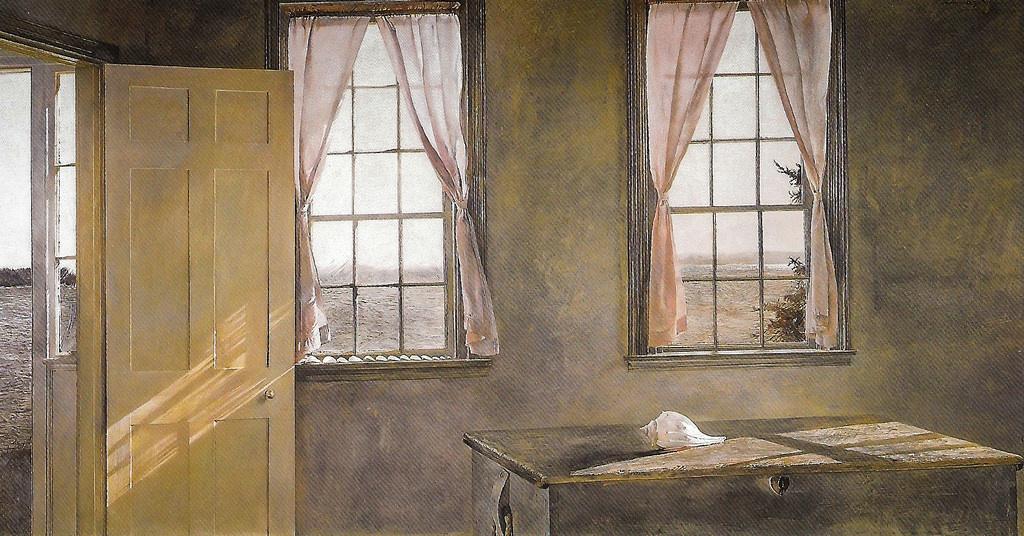 Andrew Wyeth. Her room