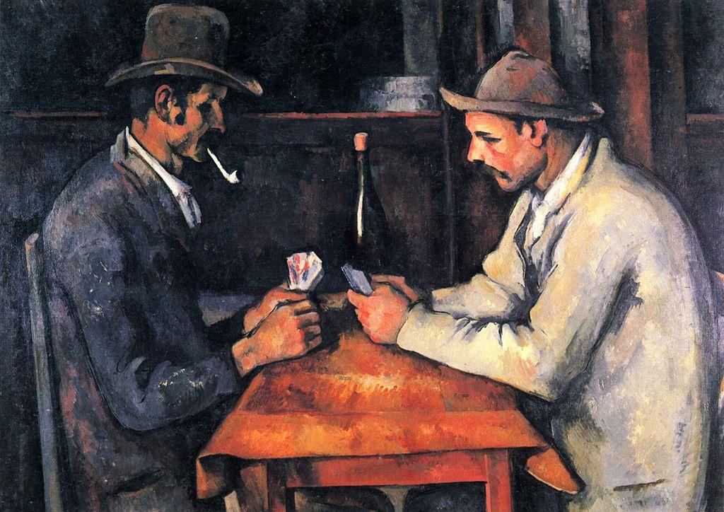 Paul Cezanne. Card players