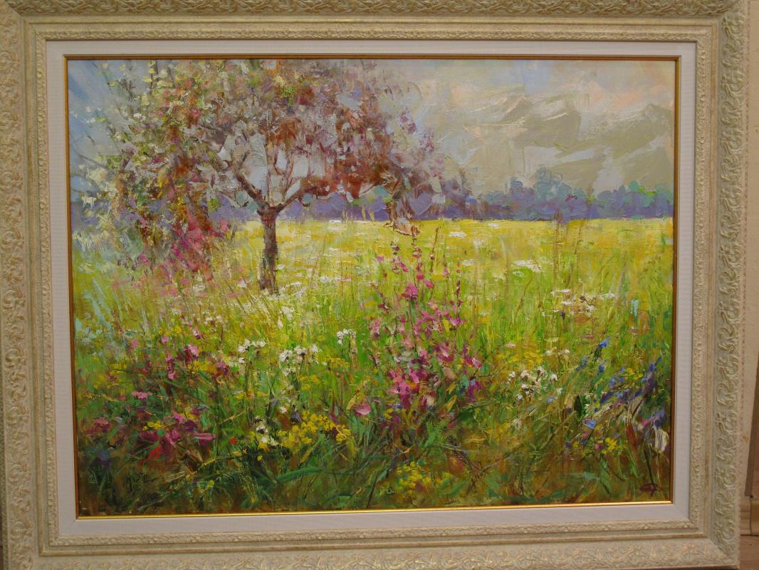 Sergey Alexandrovich Chizhevsky. Fireweed bloomed