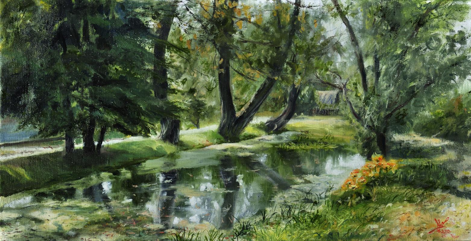 Вячеслав Юрьевич Шайнуров. Pond
