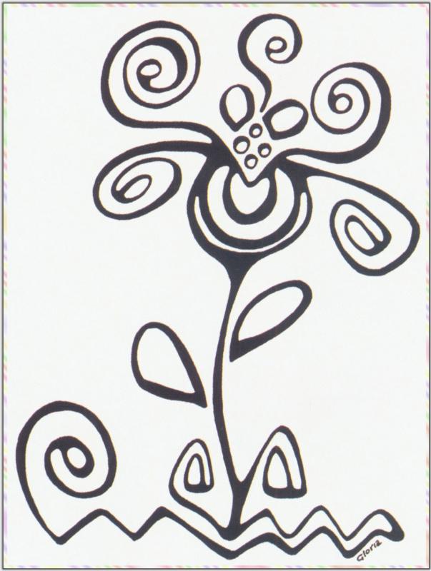 Риа Кито. Цветок