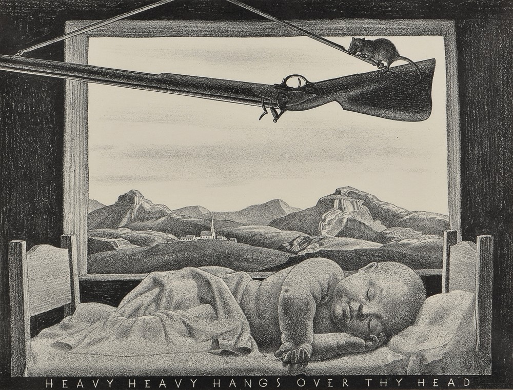 Rockwell Kent. Heavy heavy hangs over thy head