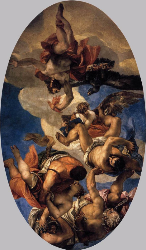 Paolo Veronese. Jupiter, whipping vices
