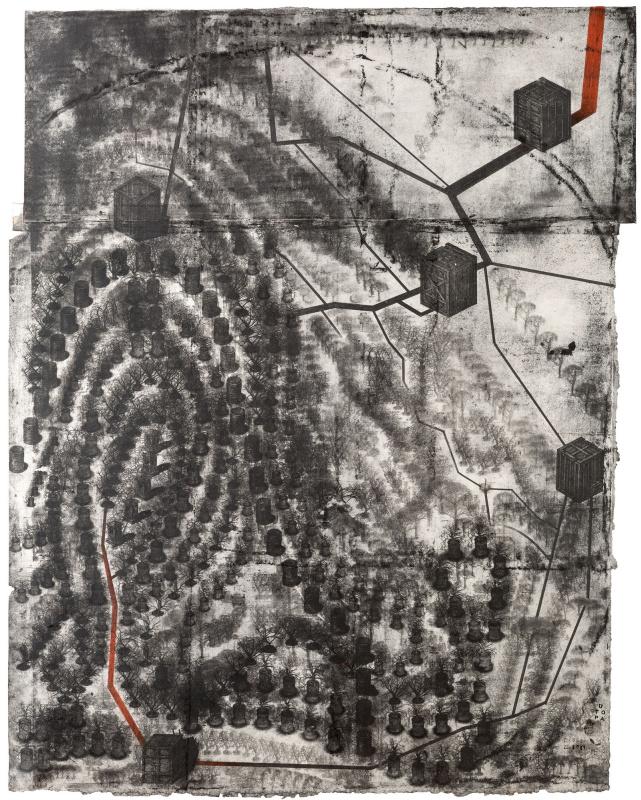 "Павел Николаевич Маков. Touch #2 (""Прикосновение #2 - цикл ""Отпечатки пальцев"")"