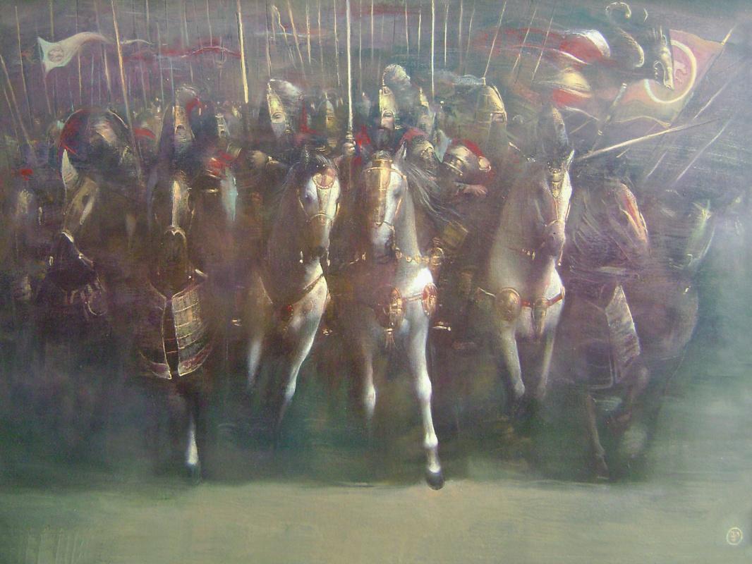 Vadim Enverovich Pukhaev. Sarmatian cavalry
