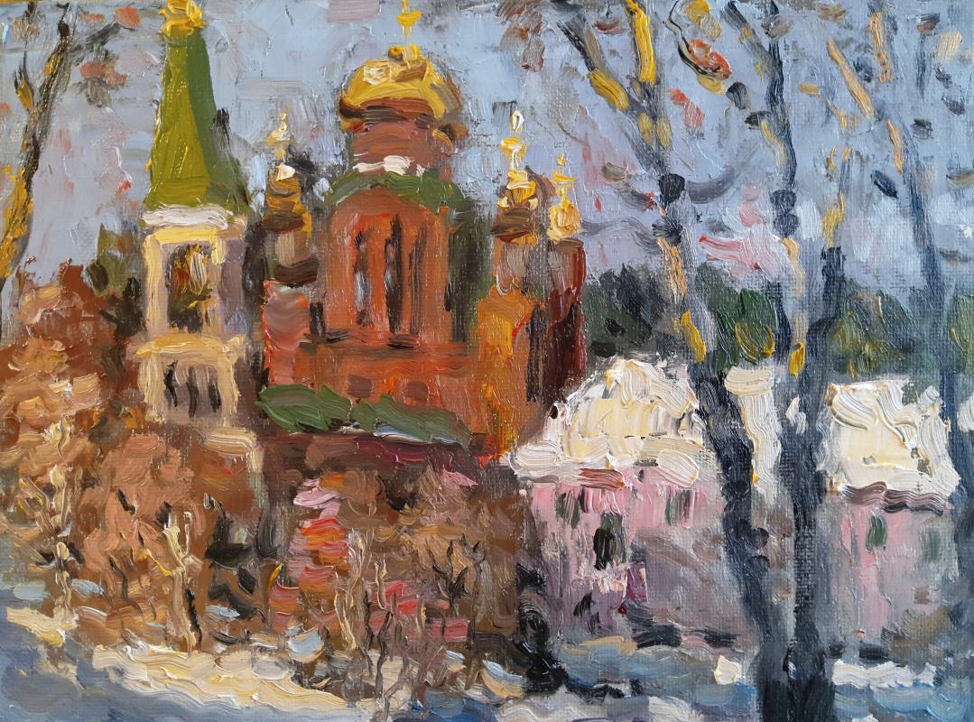 Nikita Tarachev. Winter landscape