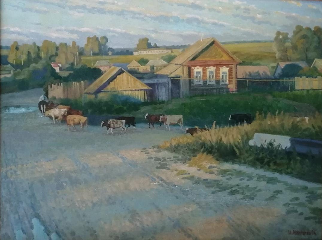 Nikolay Stepanovich Makushkin. Day is passing
