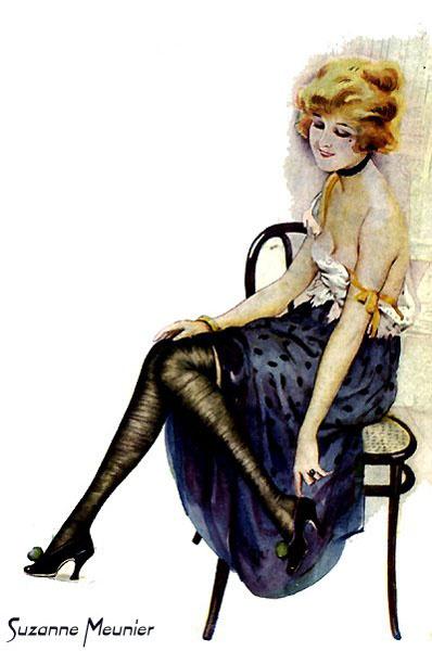 Сюзанна Менье. Девушка в черных туфлях