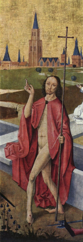 Каспар Изенманн. Христос