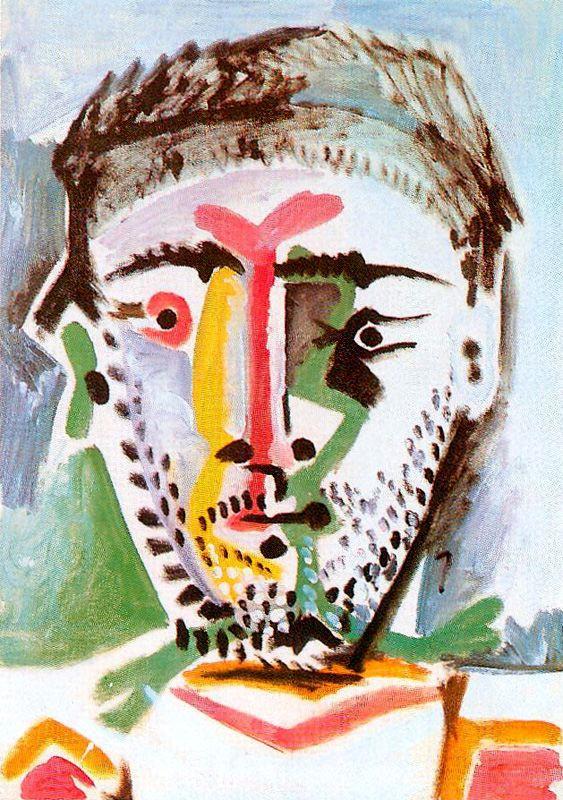 Пабло Пикассо. Голова молодого человека