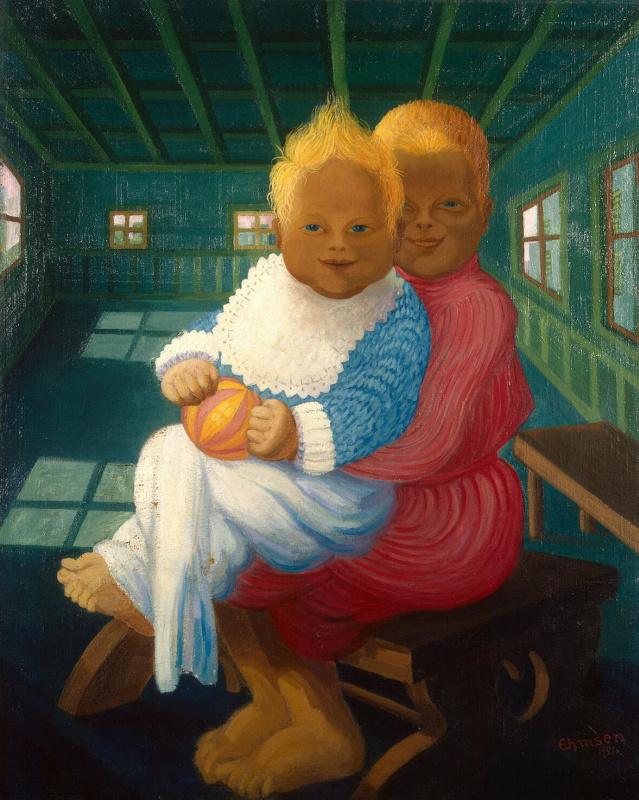 Генрих Эмзен. Дети художника