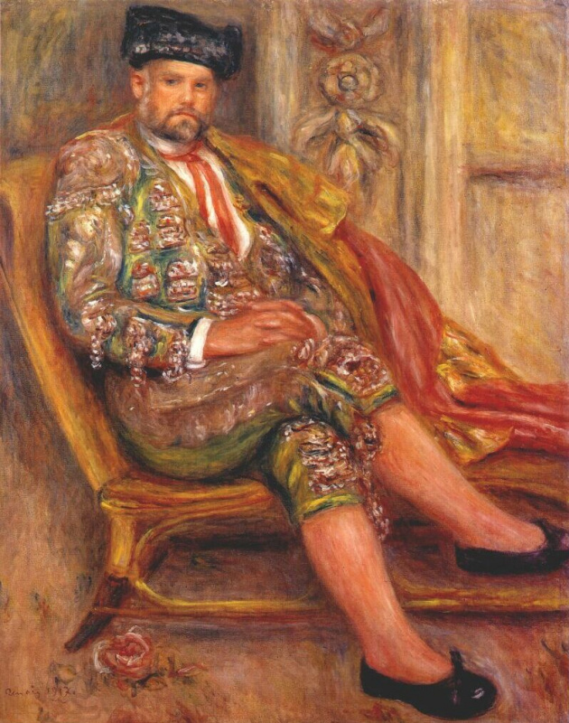 Пьер Огюст Ренуар. Амбруаз Воллар, одетый как Тореадор