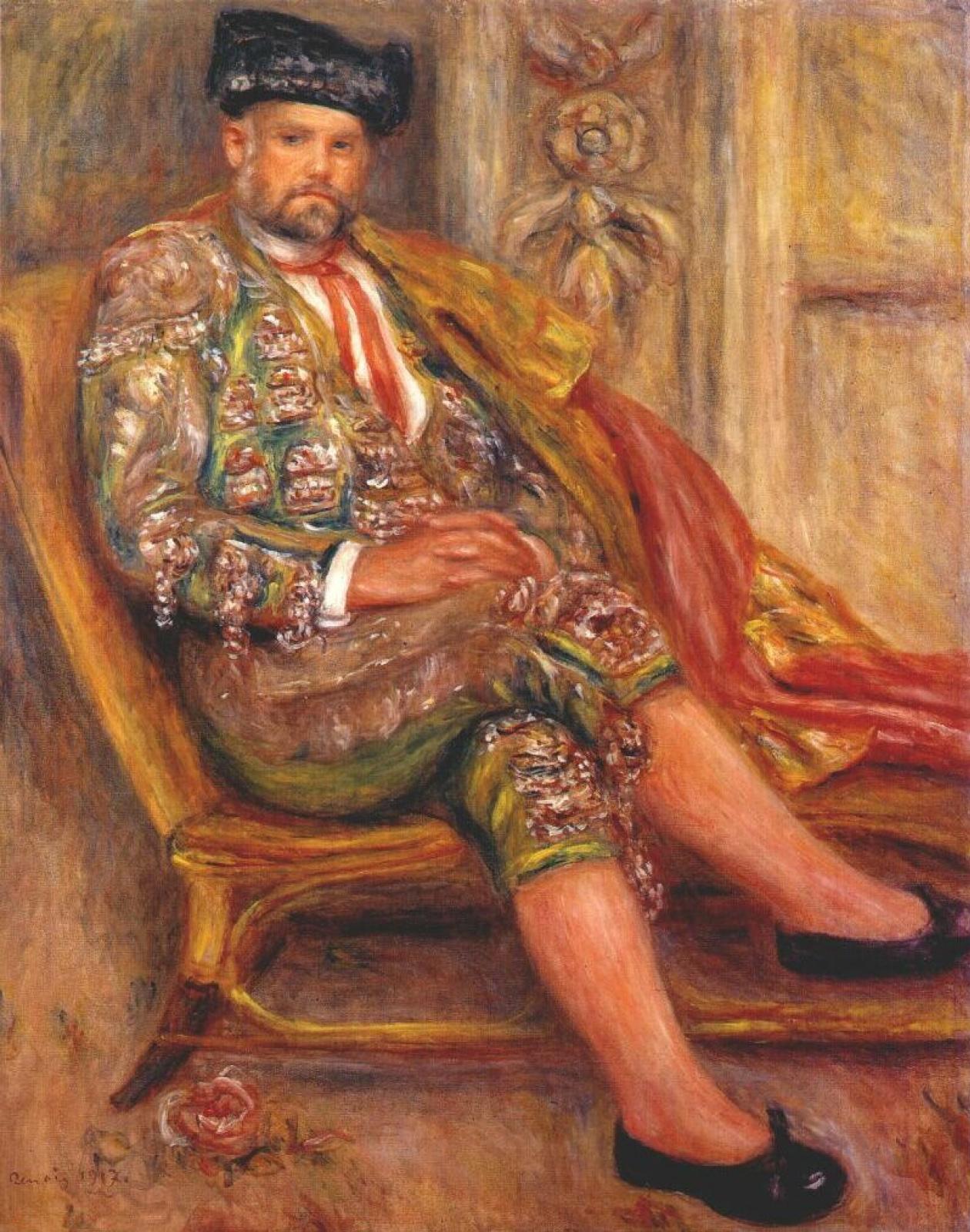 Pierre-Auguste Renoir. Ambroise Vollard dressed as a Toreador