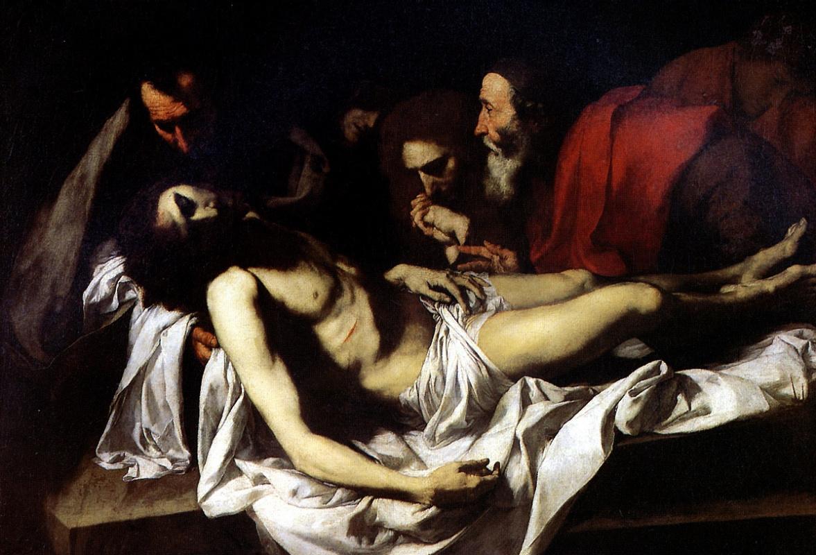 Jose de Ribera. Entombment