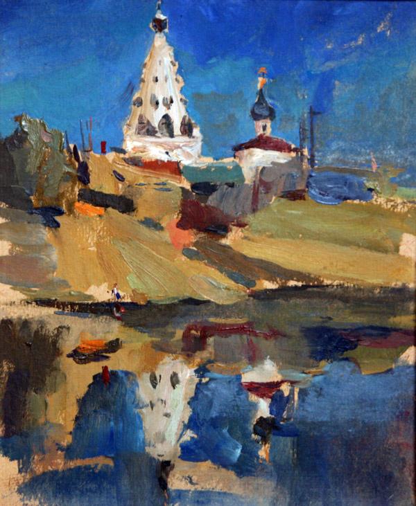 Валерий Валентинович Архипов. Белая церковь. 1998