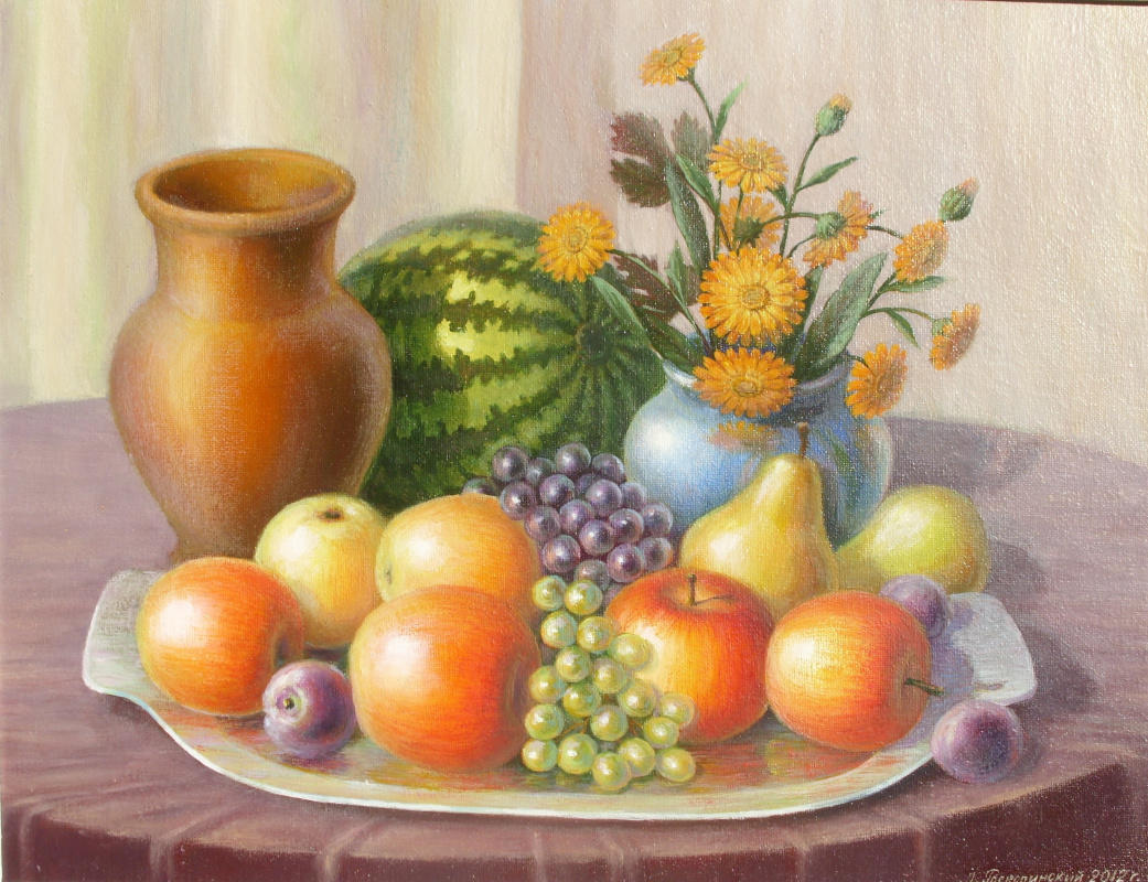 Leonid Mikhailovich Roskosnensky. Apples