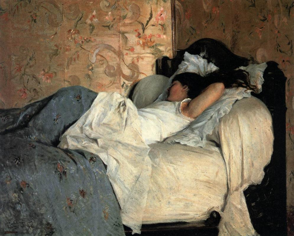 Federico Zandomeneghi. In bed