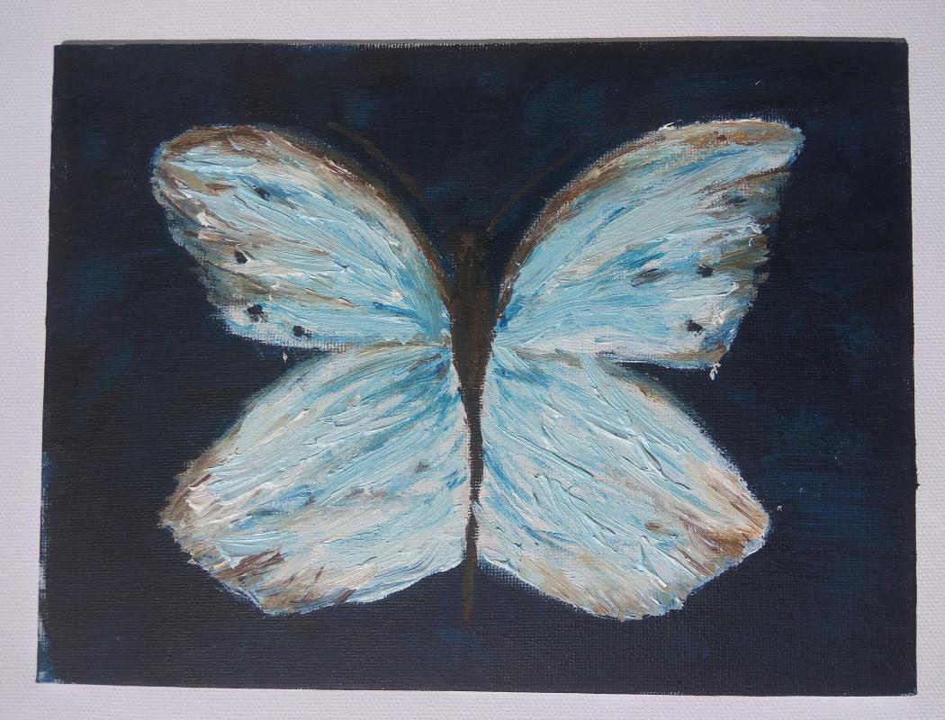 Anna. Butterfly