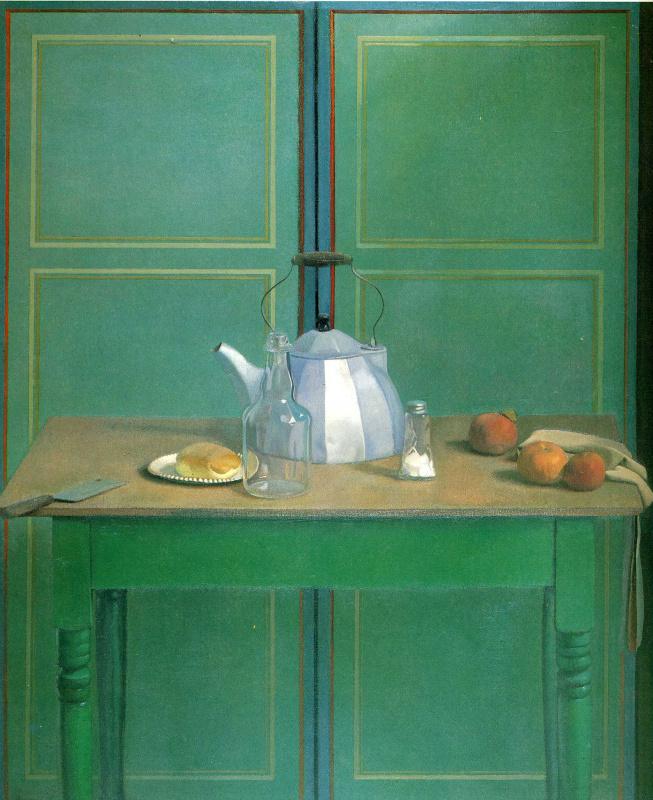 Леннарт Андерсон. Натюрморт с персиками