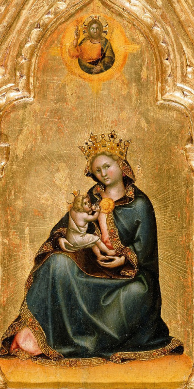 Гваренто ди Арпо. Мадонна смирения  1345-50