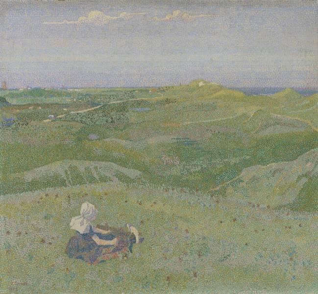 Jan (Johannes) Theodore Thorop. In the dunes near Domburg