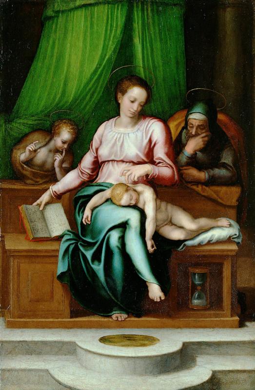 Марчелло Венусти. Святое семейство