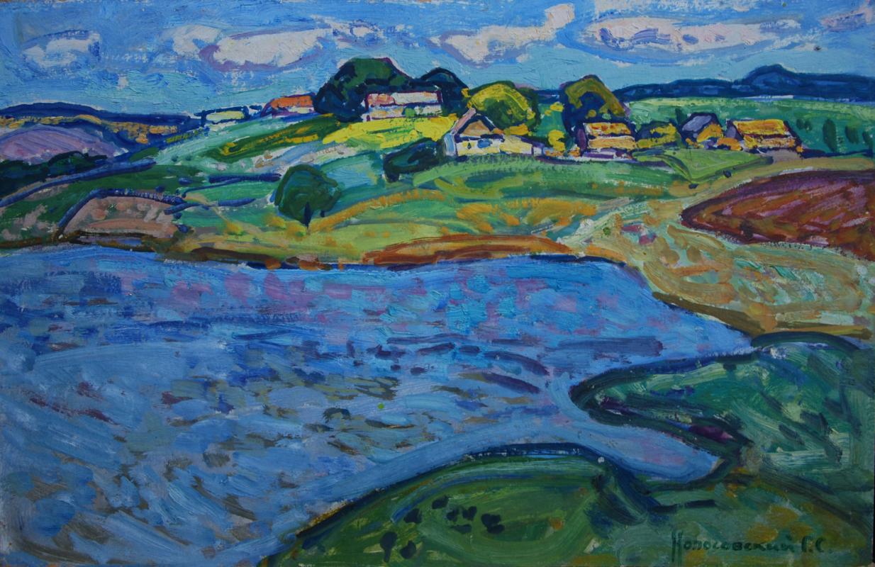George Sergeevich Kolosovsky. Village