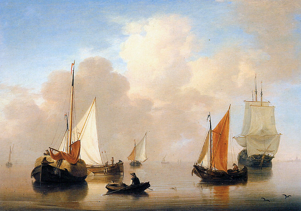 Анри ван Ос-Делез. Голландские корабли
