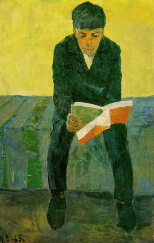Айтымбай Молдабеков. Портрет сына