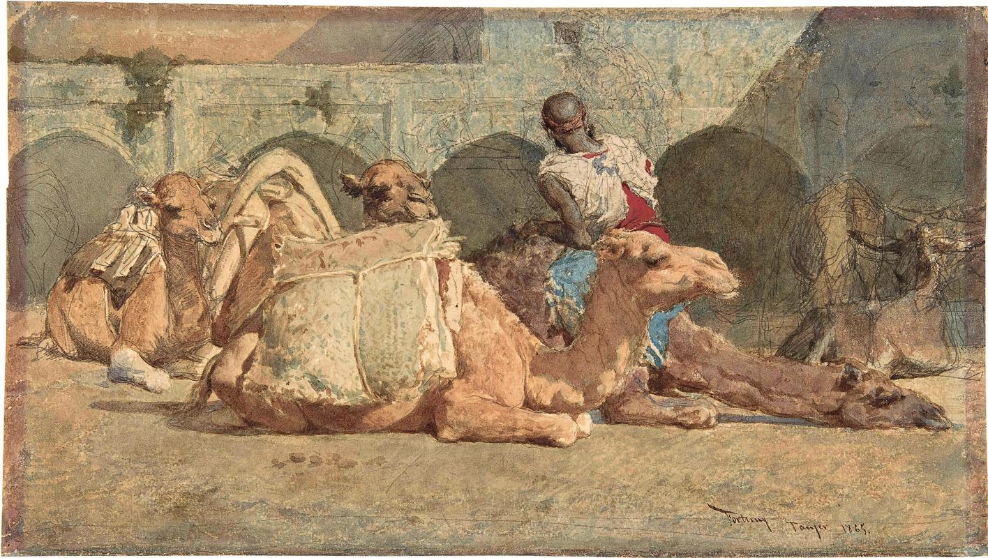 Mariano Fortuny y Marsal. Camel