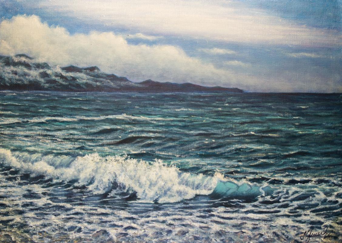 Valery Levchenko. No. 468 Seascape.