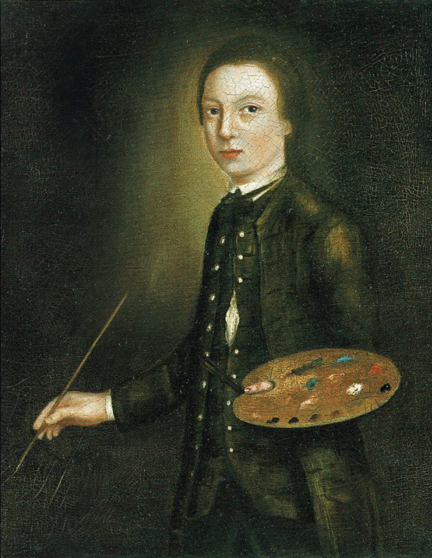 A self-portrait of the artist aged 12