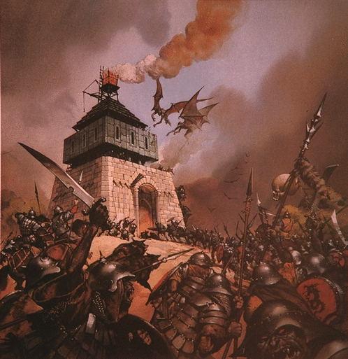 Глен Ангус. Нападение на башню