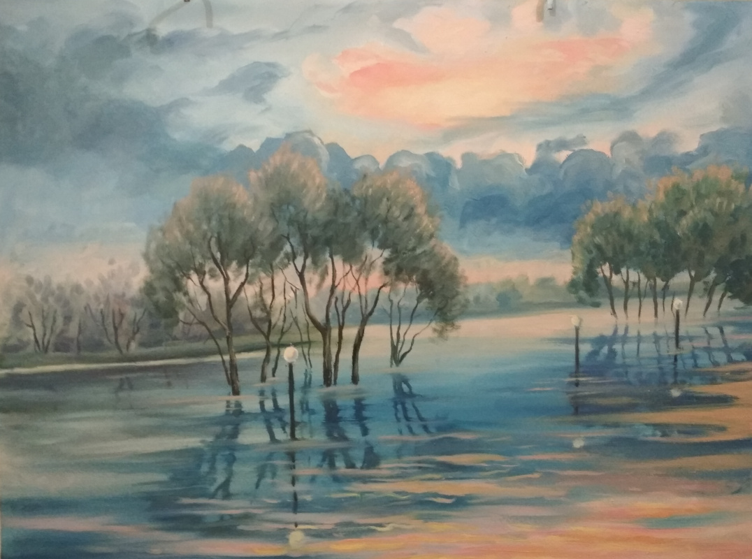 Ivan Vasilyevich Kovacs. On the Don flood