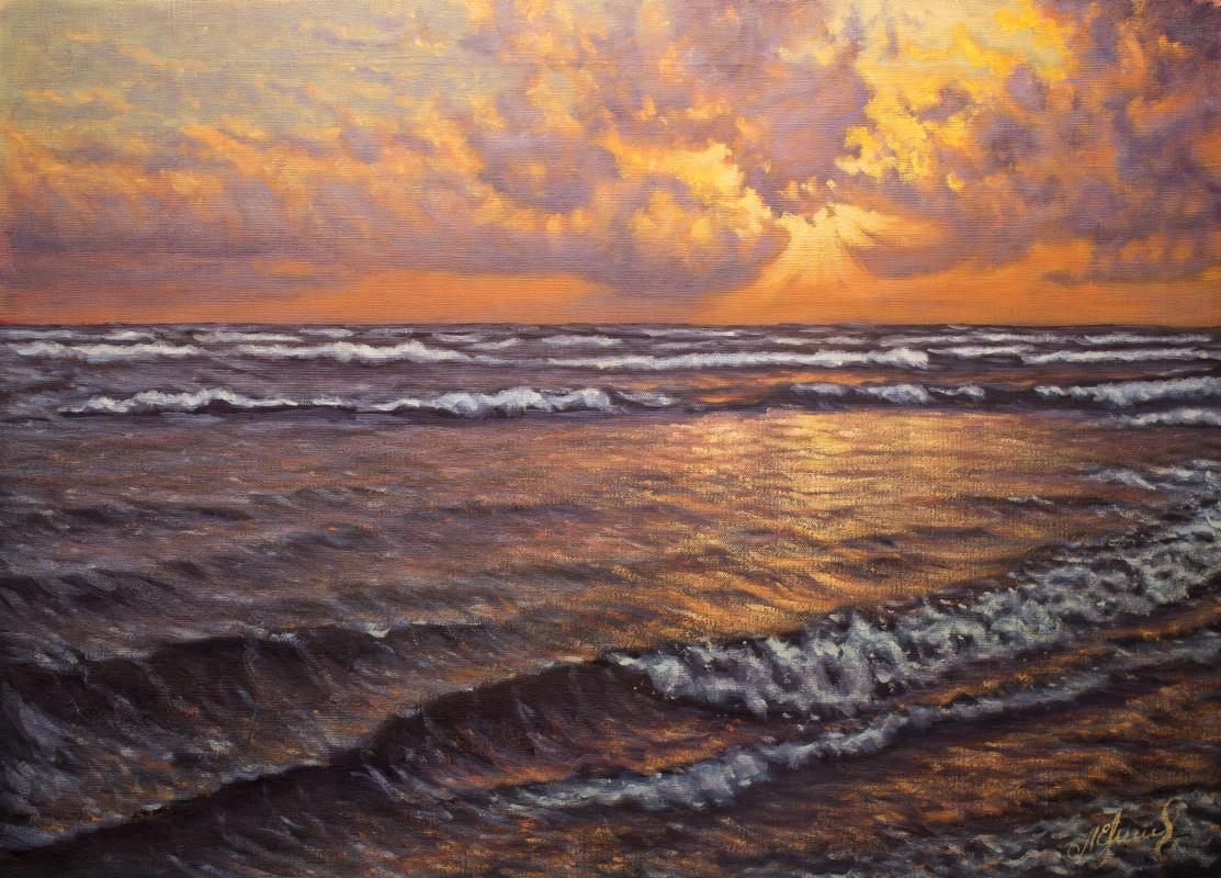 Valery Levchenko. № 540 Seascape.