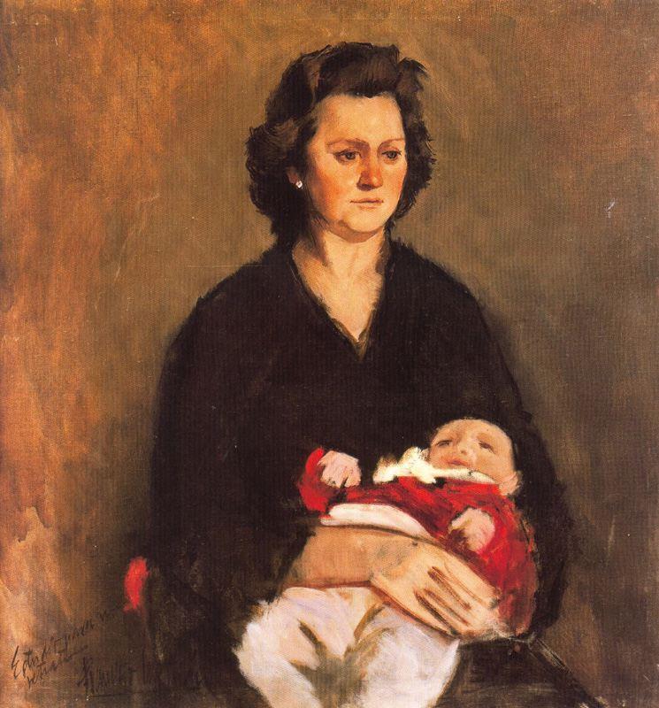 Франсиско Себастьян. Мать с ребенком